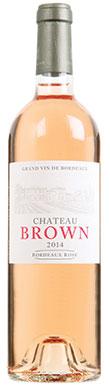 Château Brown, Bordeaux 2014, rose