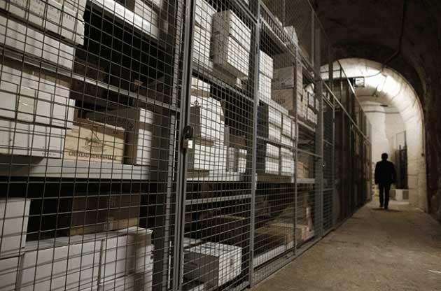Paris wine cellars at Issy Les Moulineaux
