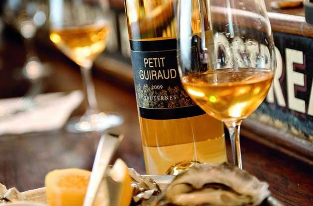 Sauternes, Sauternes and food pairing
