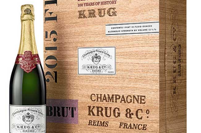 Krug 1915, Krug, vintage champagne