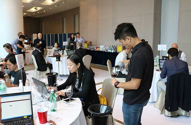 Decanter Asia Wine Awards 2015, Dawa 2015, judging week