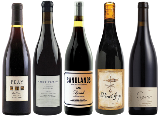 Top 10 Californian Syrah