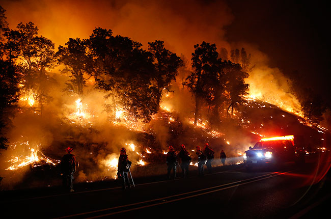 Valley Fire, California