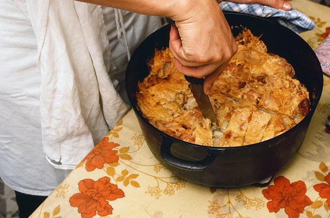Potato Gruyere gratin