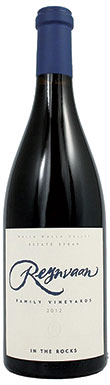 Reynvaan, In the Rocks Syrah, Washington Syrah