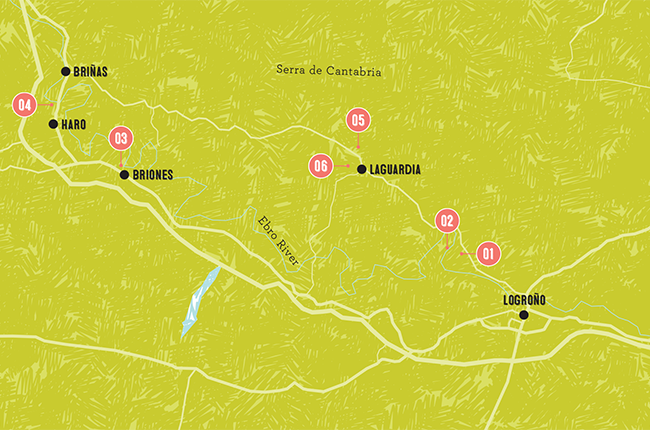 Rioja Region Spain Map.Wine Trails Six Rioja Wineries To Visit Decanter