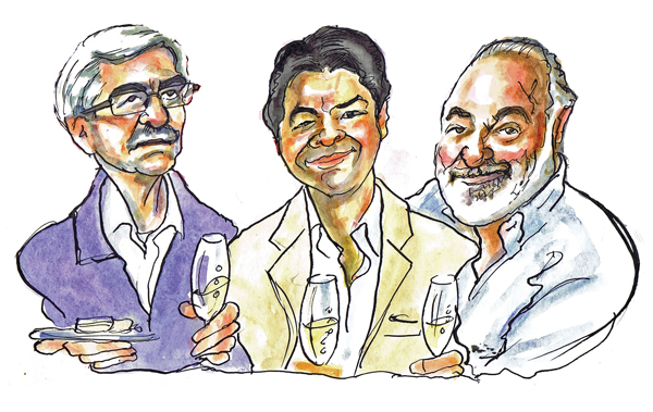 Favourite wine Decanter contributors