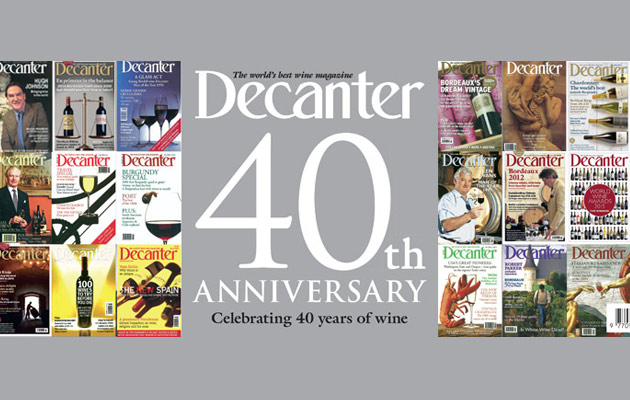 Decanter 40th Anniversary