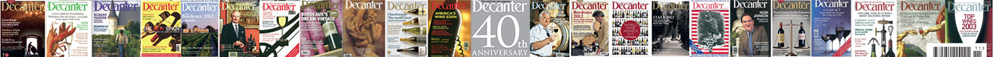 Decanter 40th anniversary