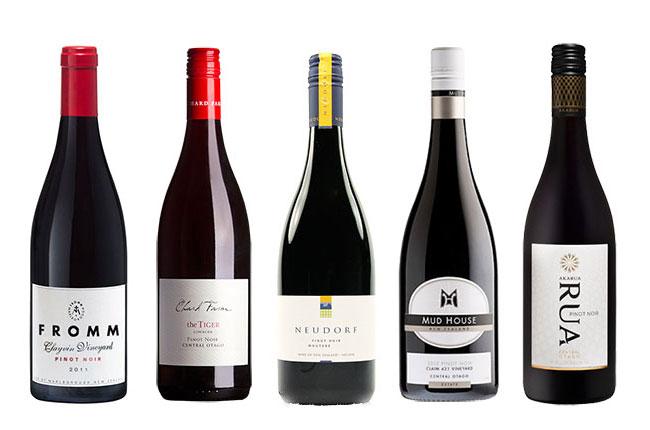 New Zealand Pinot Noirs