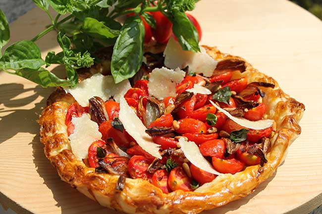 Michel Roux Jr's tomato tart recipe