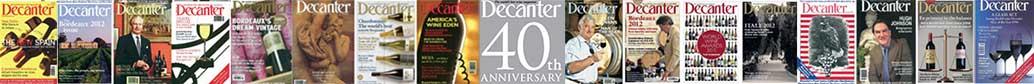 Decanter 40 anniversary