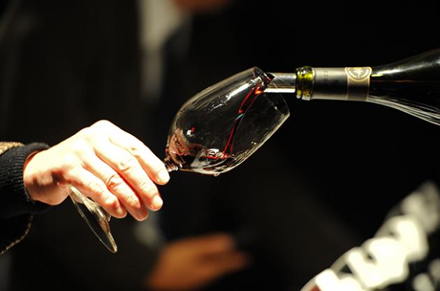 Burgundy 2014 tasting DAWA Enoteca tasting