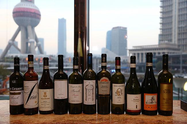 Barolo wines at SFWE 2015