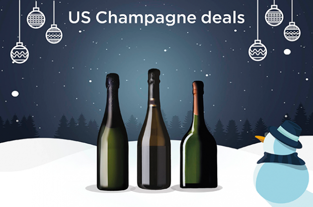 Champagne deals, US