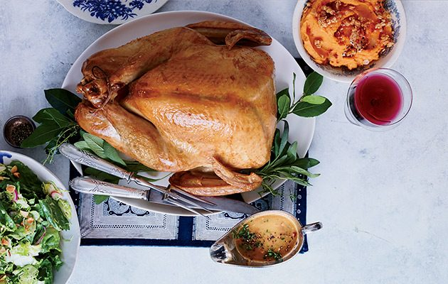 Simplest roast turkey recipe decanter for How to cook a 7kg turkey