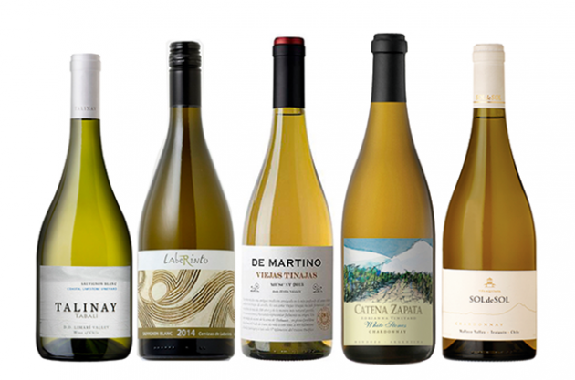 South American white wines