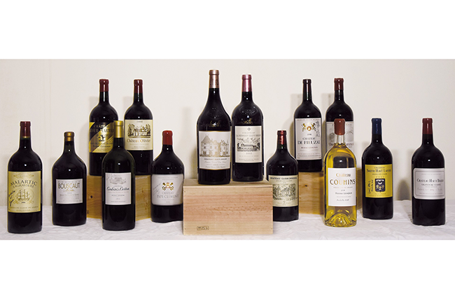 Graves wine auction