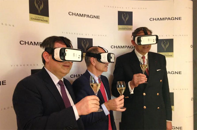 Champagne film, 360 degrees