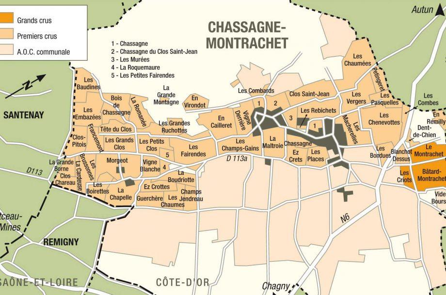 Chassagne-Montrachet, Burgundy.