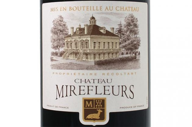 Chateau Mirefleurs, Bordeaux Supérieur