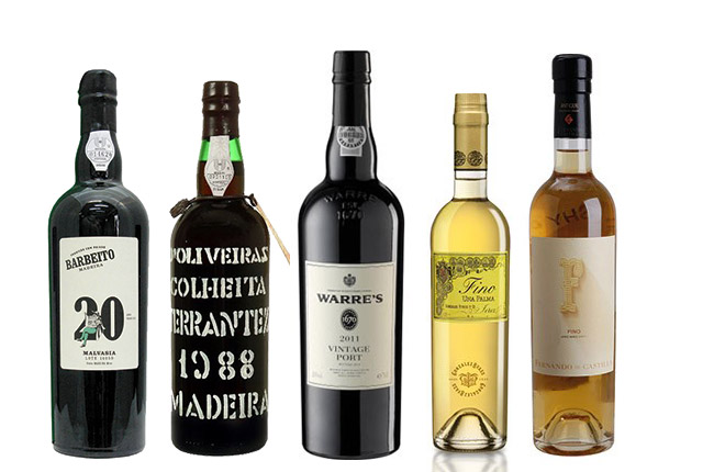 Fortified wines for christmas