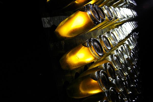 France Champagne Louis Roederer cellar bottles credit Eric Zeziola Champagne Method