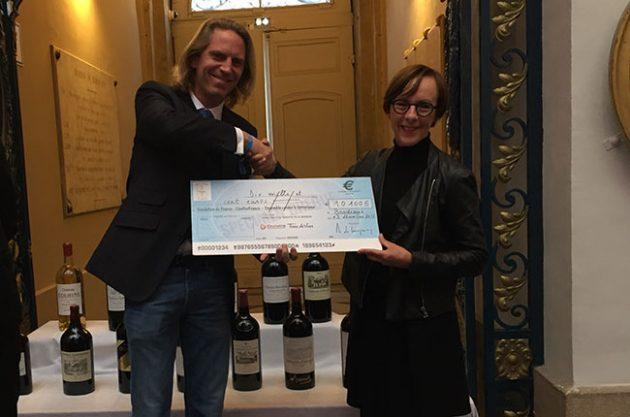 Jean Jacques Bonnie, Graves wine auction for Paris victims