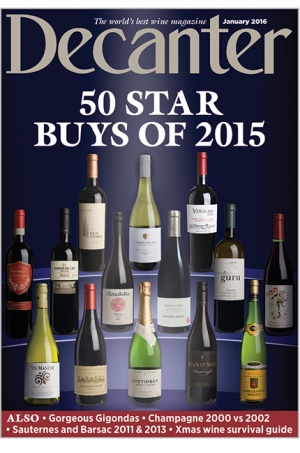 Decanter magazine January 2016