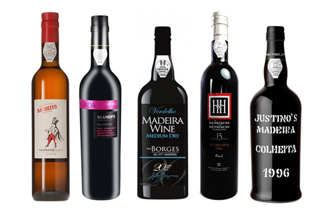 Ten Madeira wines for Christmas