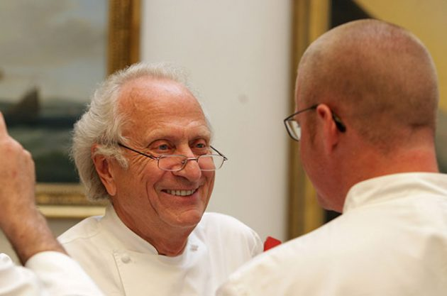 Michel Roux OBE talks to Heston Blumenthal