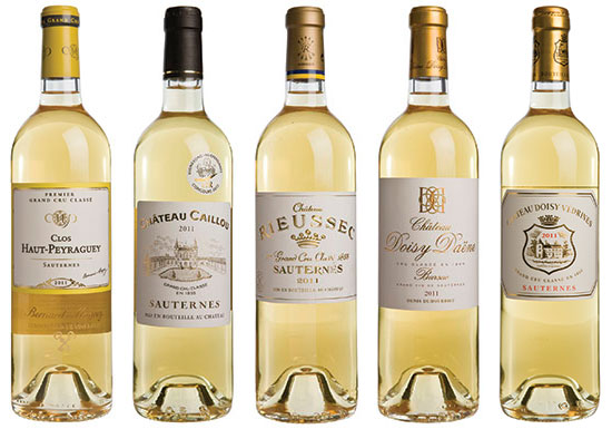Sauternes and Barsac 2011 & 2013: Top wines