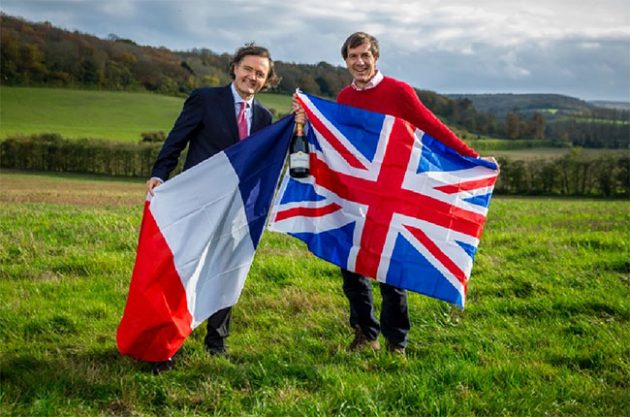 Champagne Taittinger, English sparkling wine, wine news of 2015