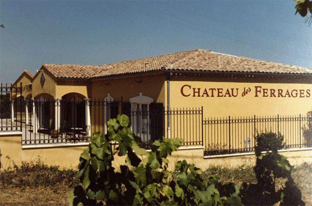 Château des Ferrages in Provence