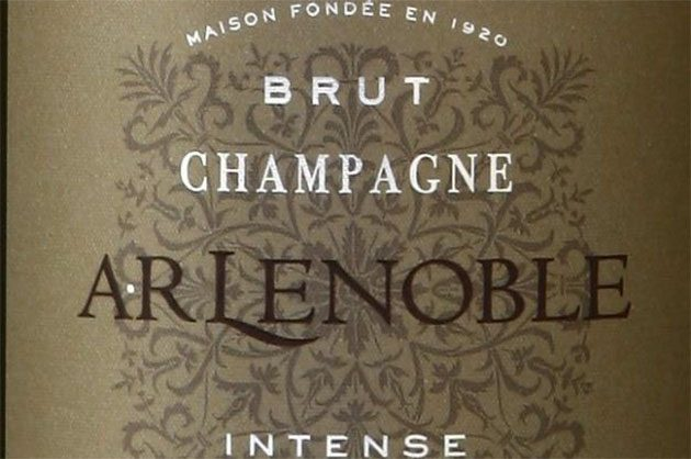 Champagne Lenoble label 2016