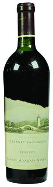 Robert Mondavi Winery Cabernet Sauvignon Reserve 1984