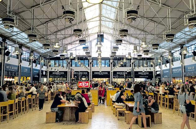 Lisbon restaurants, Mercado da RIbeira