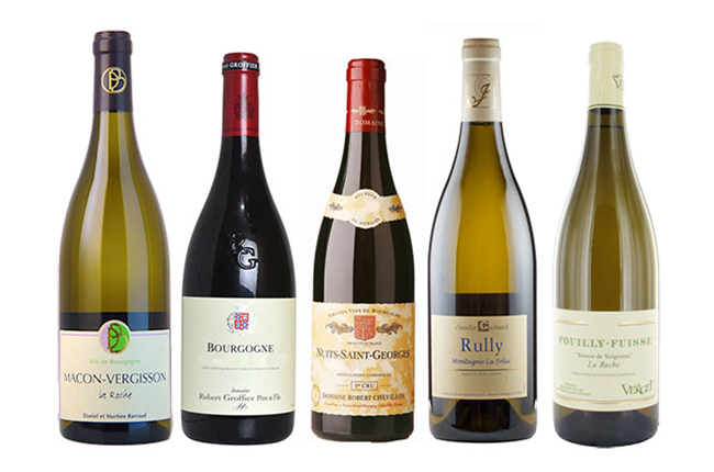 Best value burgundy 2014