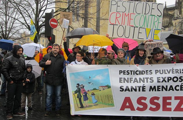 Bordeaux pesticide protest