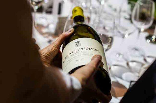 Wine gala dinner