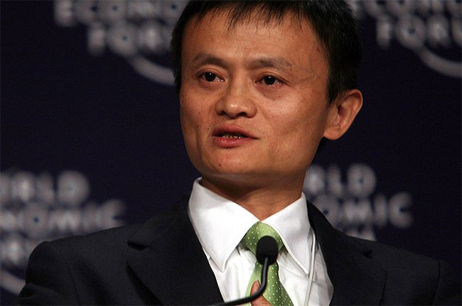 Jack Ma, founder of Alibaba and owner of Château de Sours