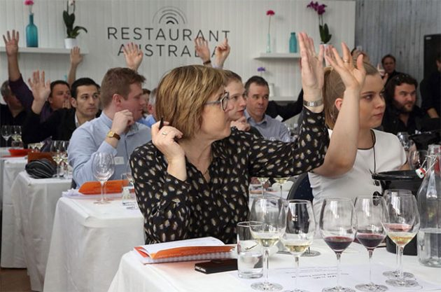MWs compete with Master Sommeliers to match food with wine