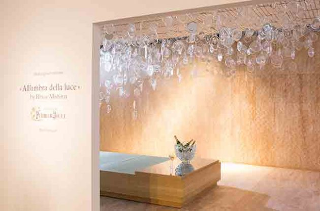 Champagne art collaborations - PJ Miami Design week 2015