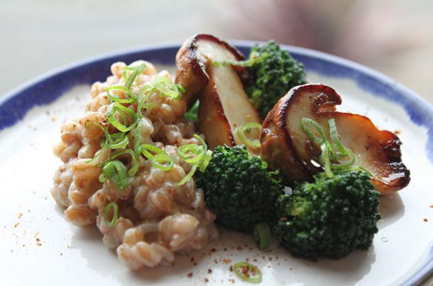 Spelt risotto, Michel Roux Jr, Decanter recipe
