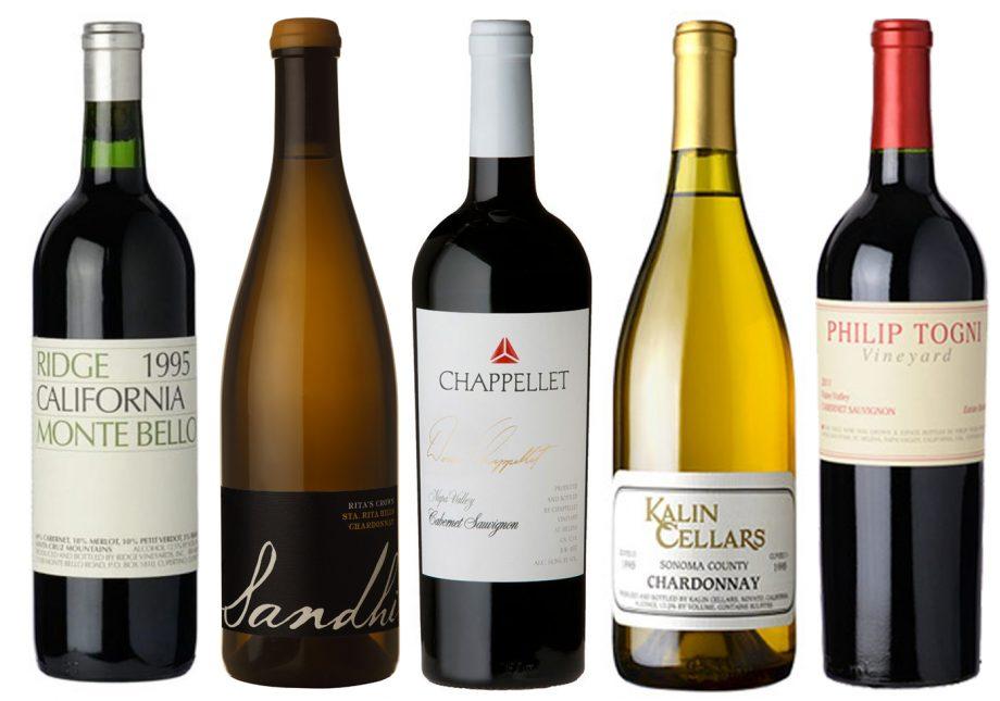 top 10 American fine wines