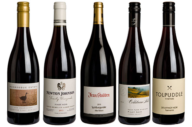 Best pinot noir wines outside burgundy decanter for Best pinot noir in the world