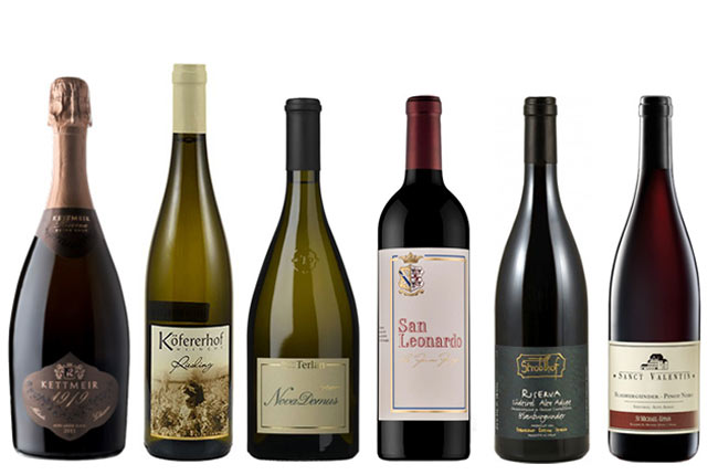 Best Wines from Alto Adige