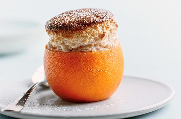 Blood Orange Soufflé