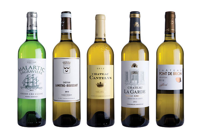 Graves & Pessac whites 2012: panel tasting results