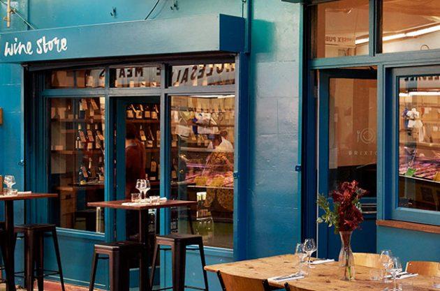London wine bars, Salon Brixton